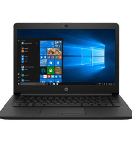 HP Notebook 14-cm0071AU - 4QK01PA - Black